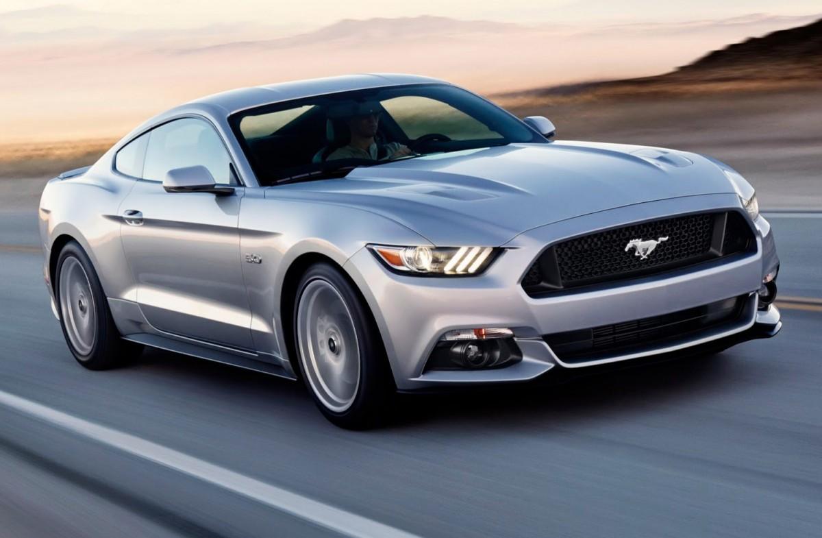 Den split nye Ford Mustang